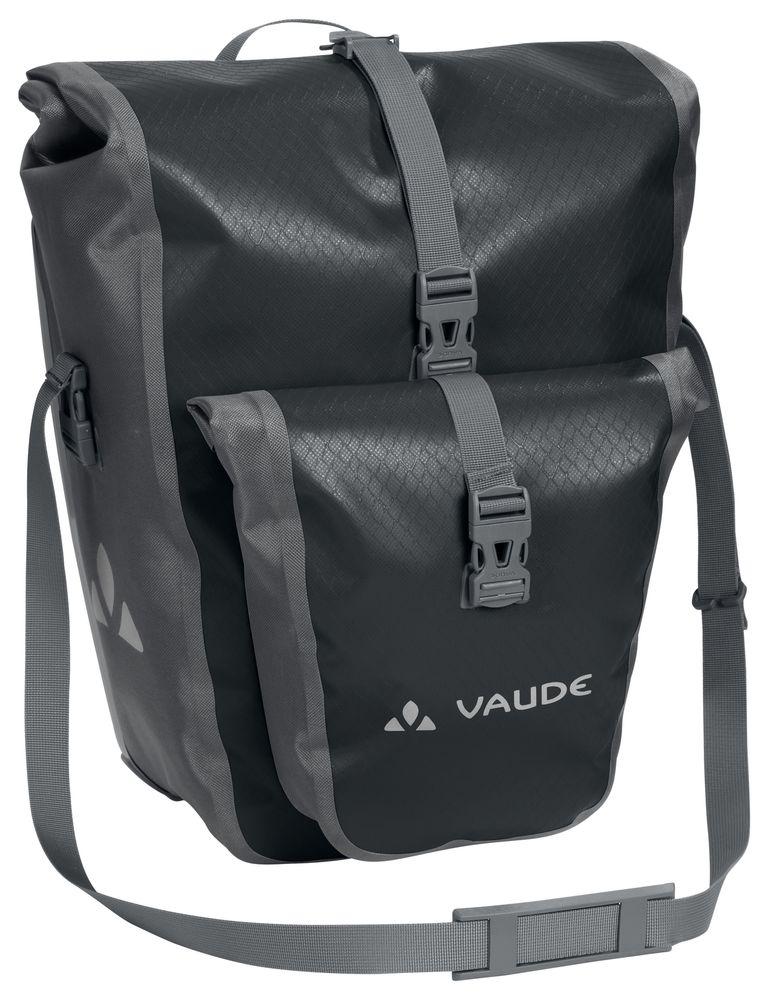 Sacoche arrière étanche Vaude Aqua Back Plus 2x25,5 L Noir