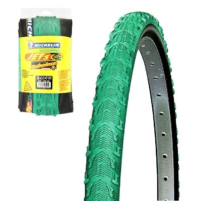 Pneu 26 x 2.00 Michelin WildGripper Jet S Tubeless Vert/Noir