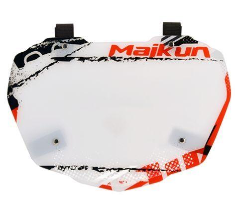 Plaque frontale Maikun Factory Plate Pro Rouge