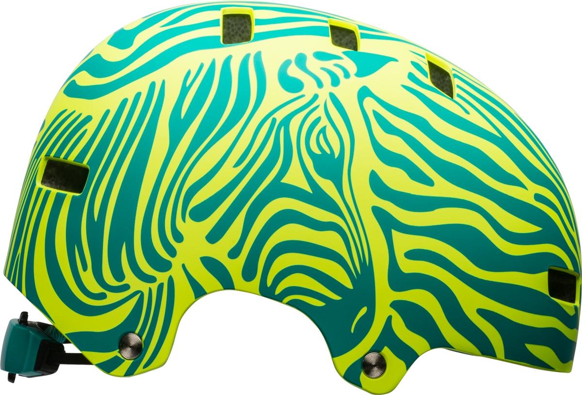 Casque Bell SPAN Mat Emerald/Retina Sear Zebra - XS / 49-53 cm
