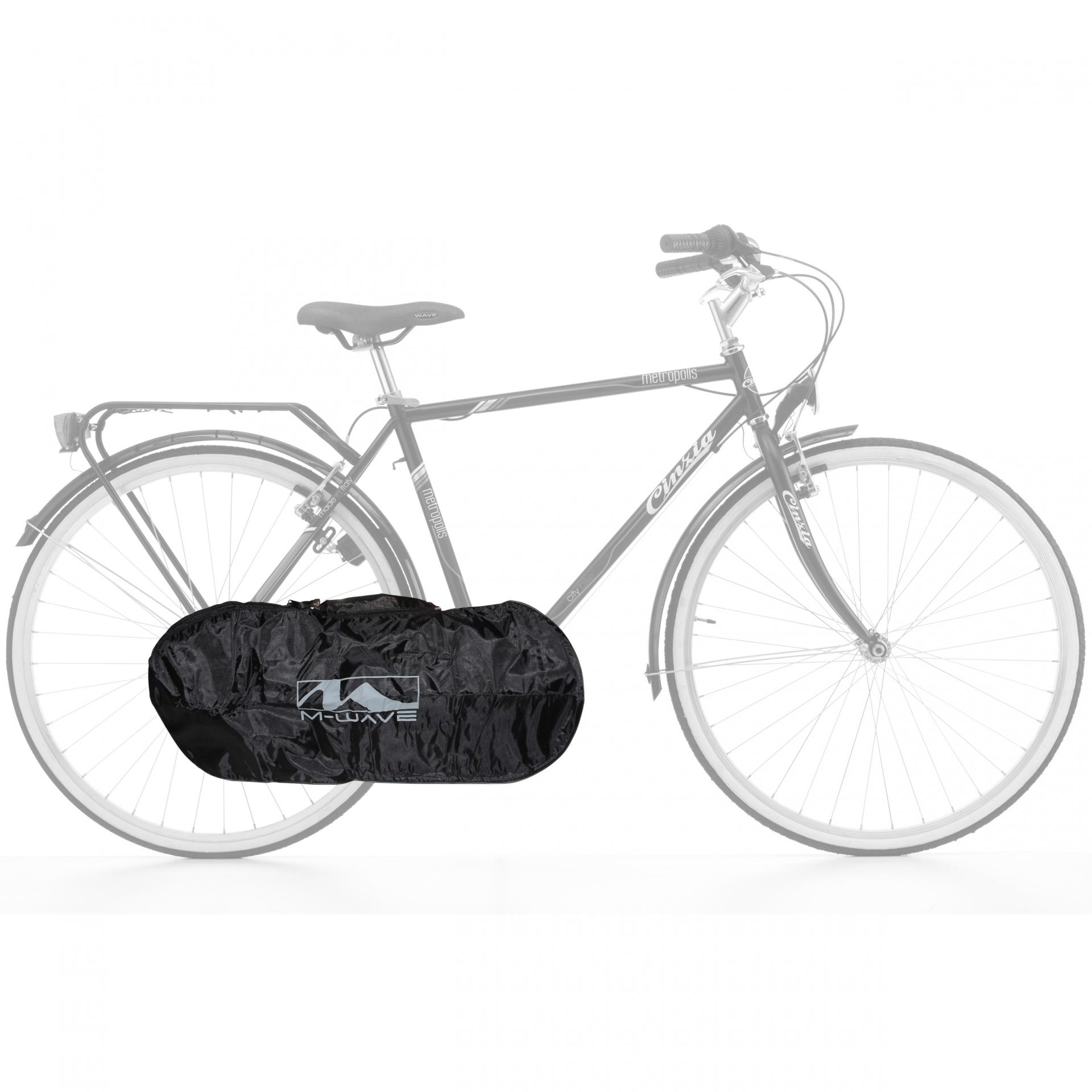 Housse de protection pour transmission vélo M-Wave Noir