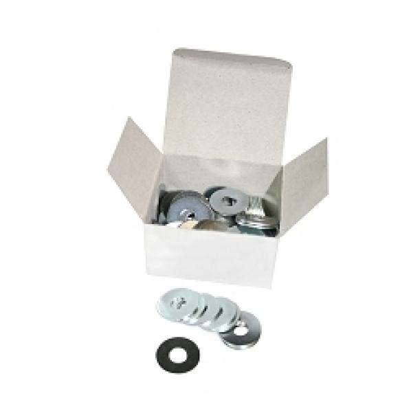 Rondelle plate ø6x18 épaisseur 1.2 mm (boite de 100)