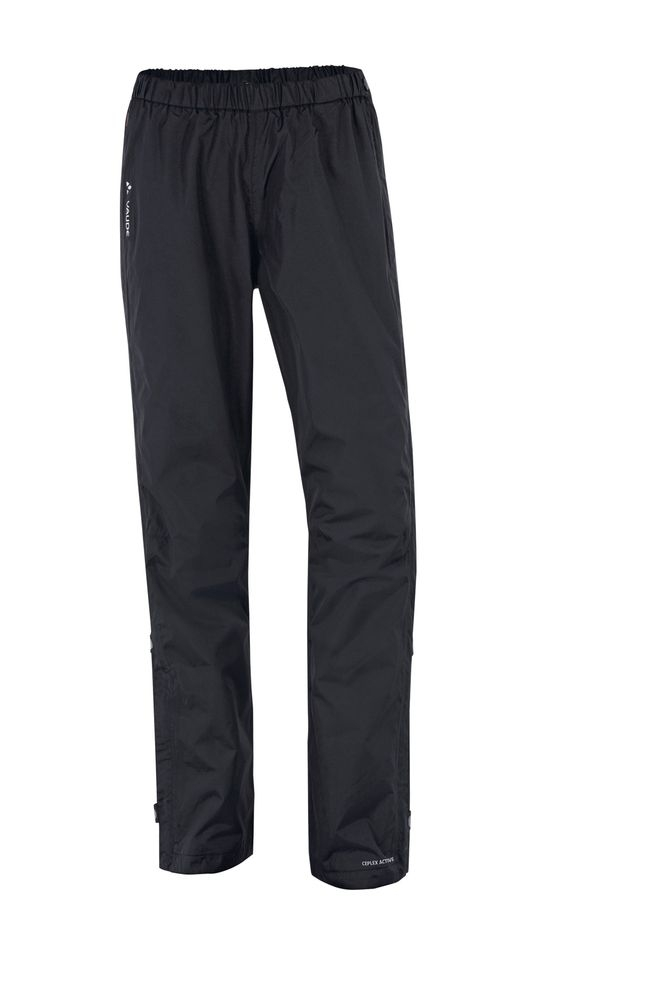 Pantalon imperméable Vaude Women's Fluid Full-Zip Noir - 38
