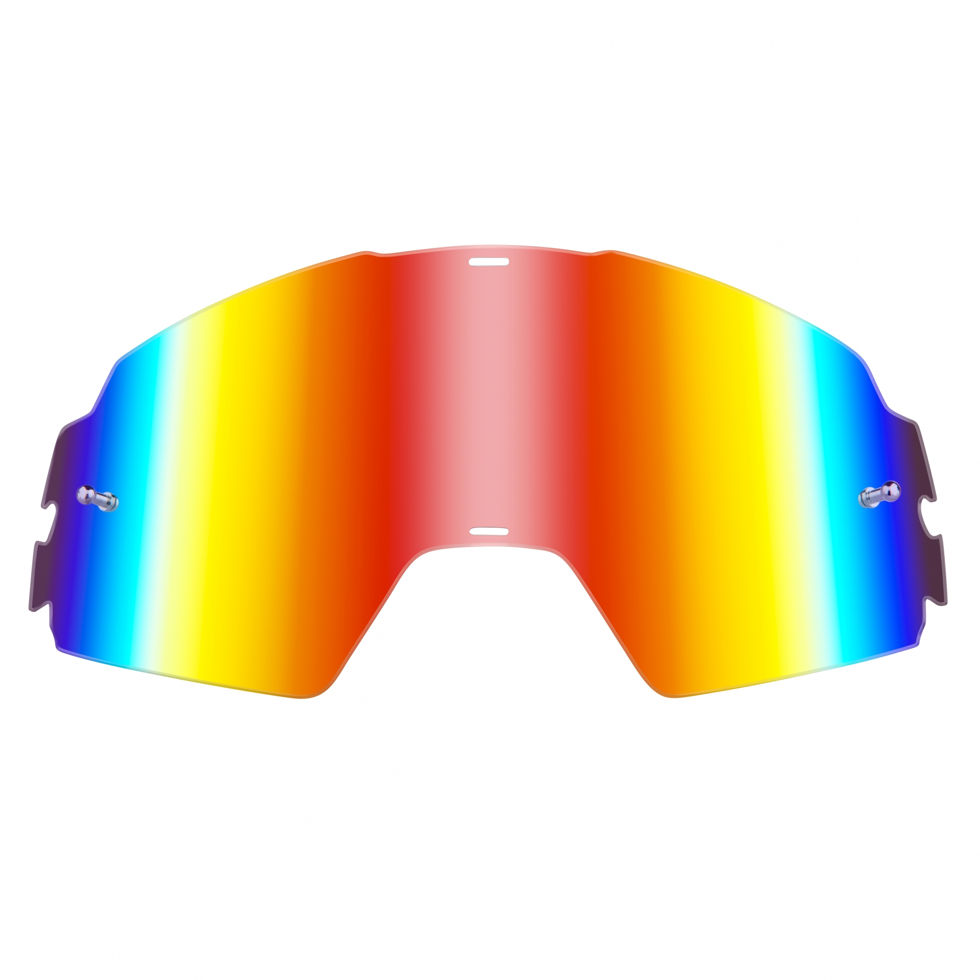 Écran O'Neal pour masque B-20 Goggle Spare Lens Radium Rouge