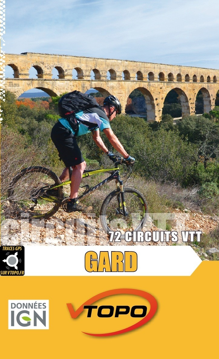 VTOPO guide VTT Gard
