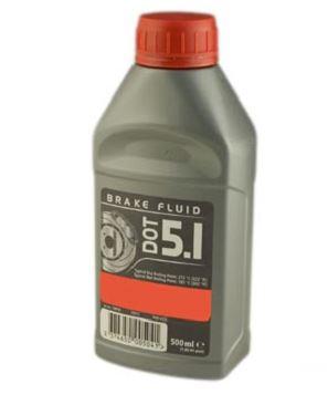 Liquide de frein DOT 5.1 Pour frein à disque 500 ml