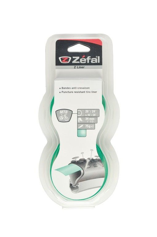 Bande anticrevaison Zefal Z-Liner vert VTT 34 mm