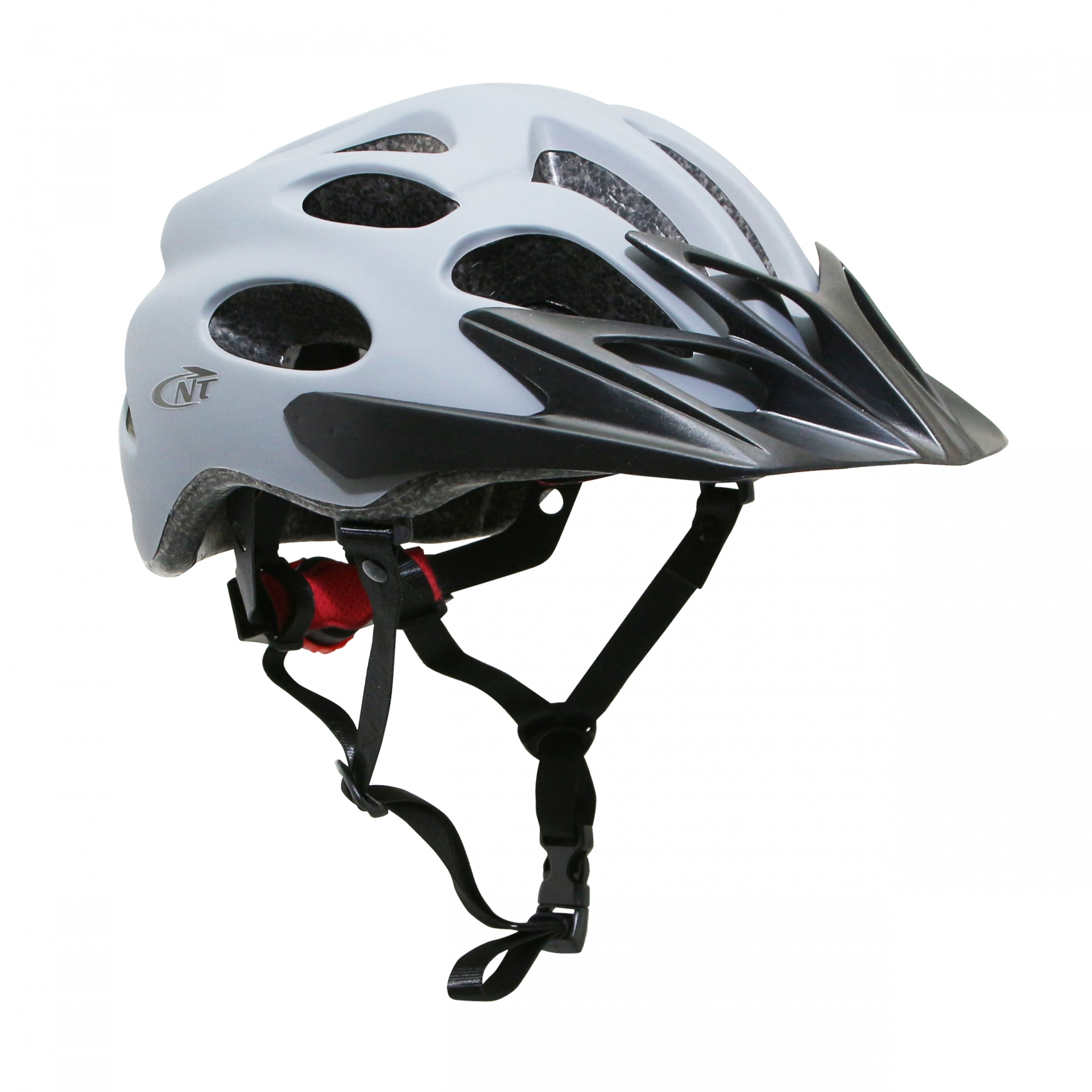 Casque vélo adulte Newton City V1 Gris clair - 55-58 cm