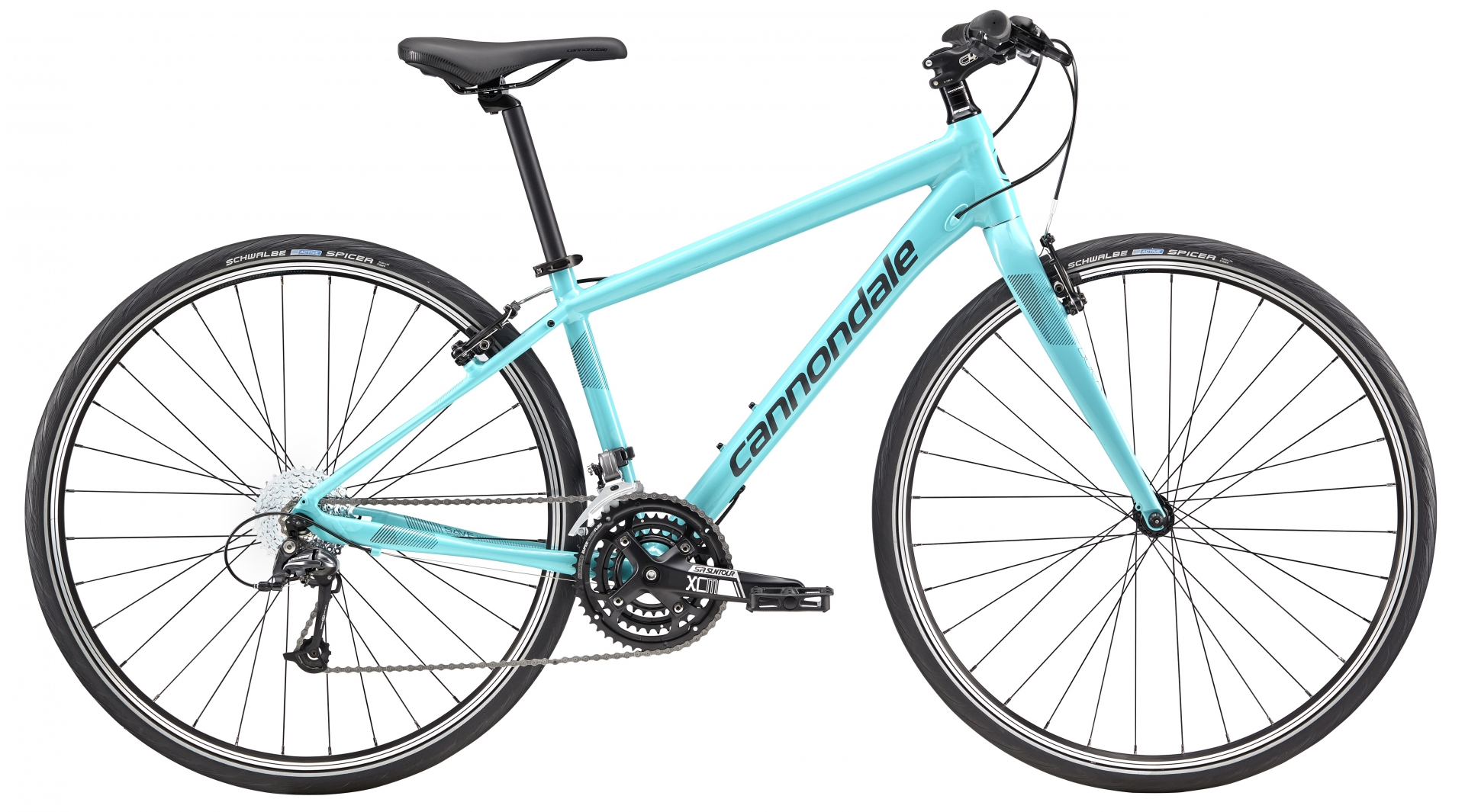 Vélo fitness Cannondale Quick 4 Turquoise - S