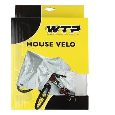 Housse de protection WTP pour vélo Taille XL Argent