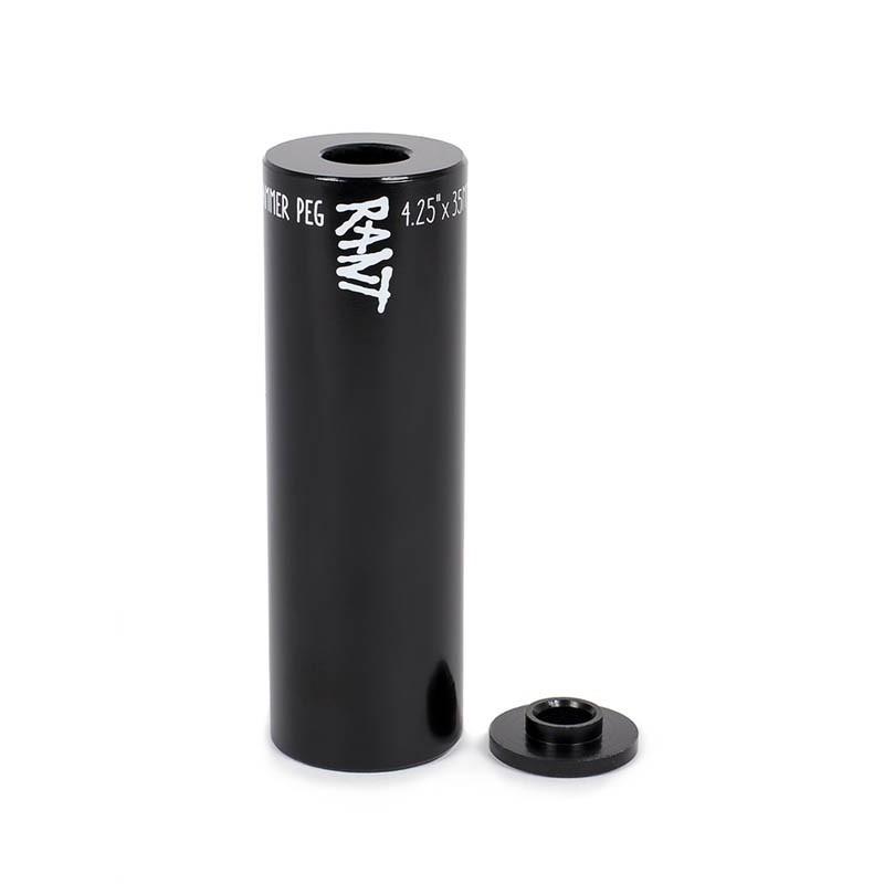 Peg BMX Rant Hammer Steel (à lunité) Noir