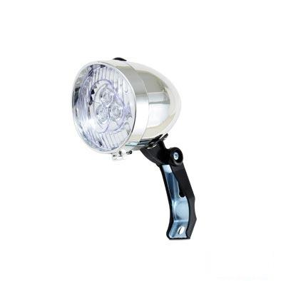 Éclairage AV ATOO 3 LEDs À pile Style rétro Fix. fourche Blanc