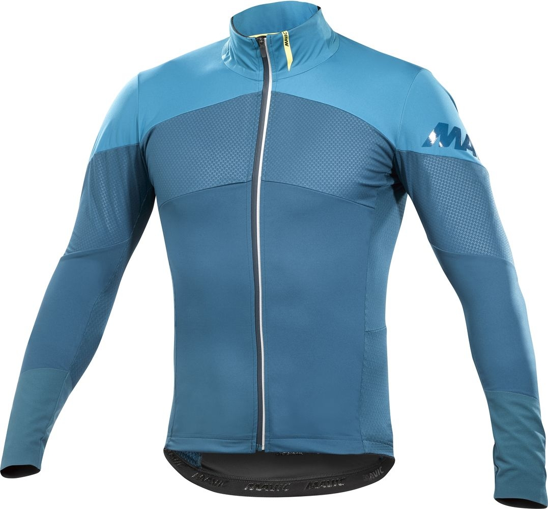 Maillot Mavic manches longues Cosmic Pro Wind Bleu/Seaport - XL