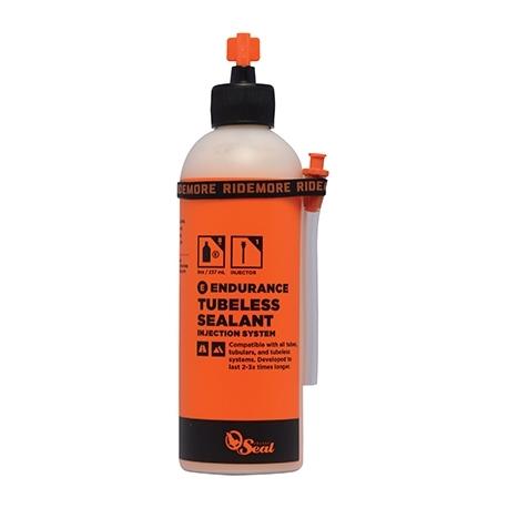 Liquide préventif anti-crevaison + applicateur Orange Seal Endurance flacon 237 ml