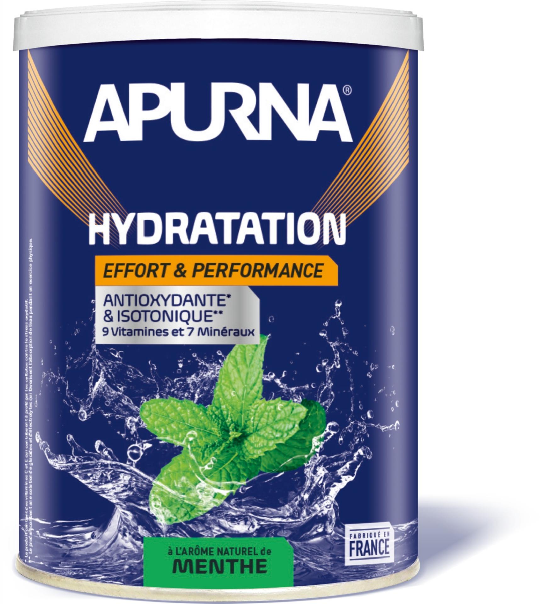 Boisson énergie Apurna Menthe Pot 500 g