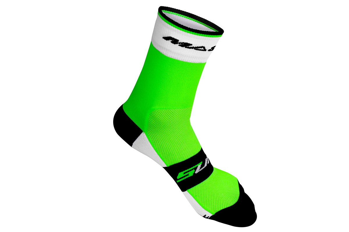 Socquettes Massi Supra Vert fluo - L