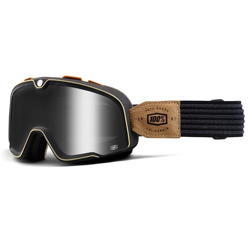 Masque 100% Barstow Hudson Smoke lens gris/noir
