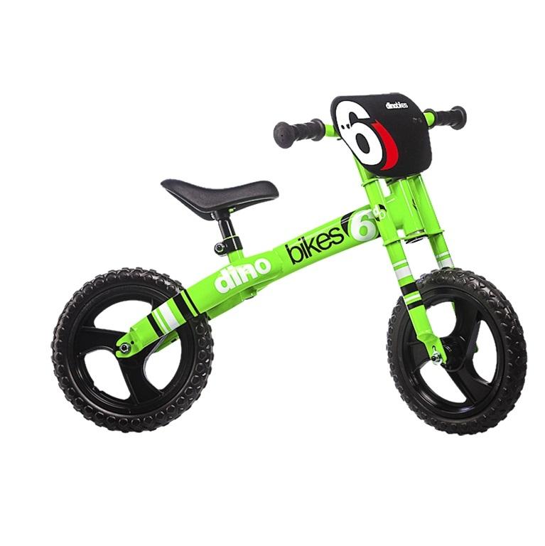 Draisienne Dino Bikes Runner Moto 12 Vert/Noir