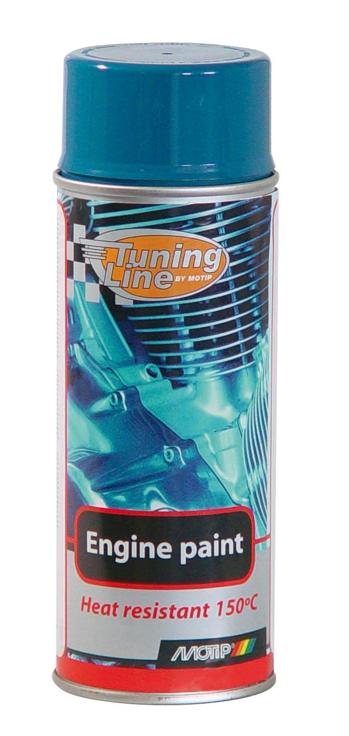 Bombe de peinture moteur bleu ford 400 ml M04094