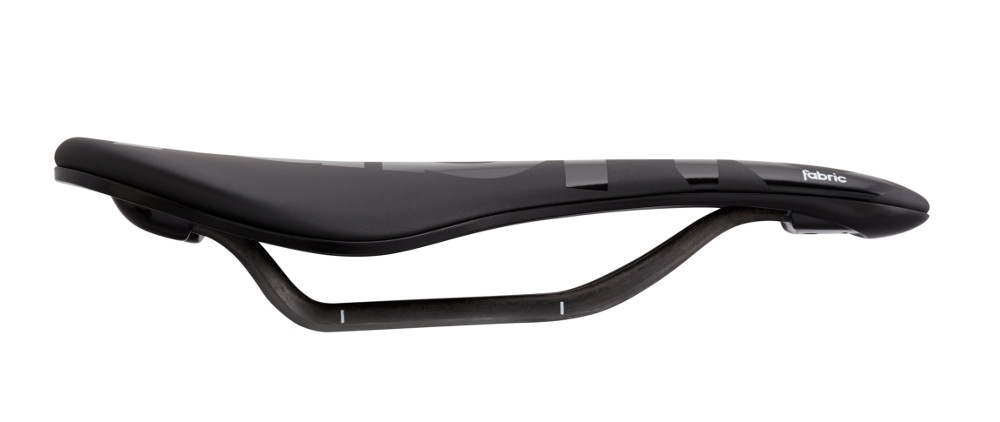 Selle Fabric Scoop Flat Pro Team Noir/Noir
