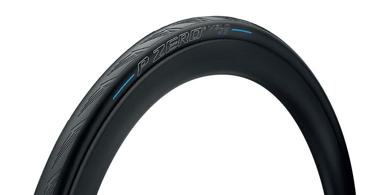 Pneu Pirelli P ZERO Velo 4S 700 x 23C TS Noir/Bleu
