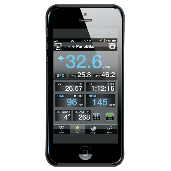 Housse et support de SmartPhone Topeak RideCase - iPhone 5 & 5S (noir)