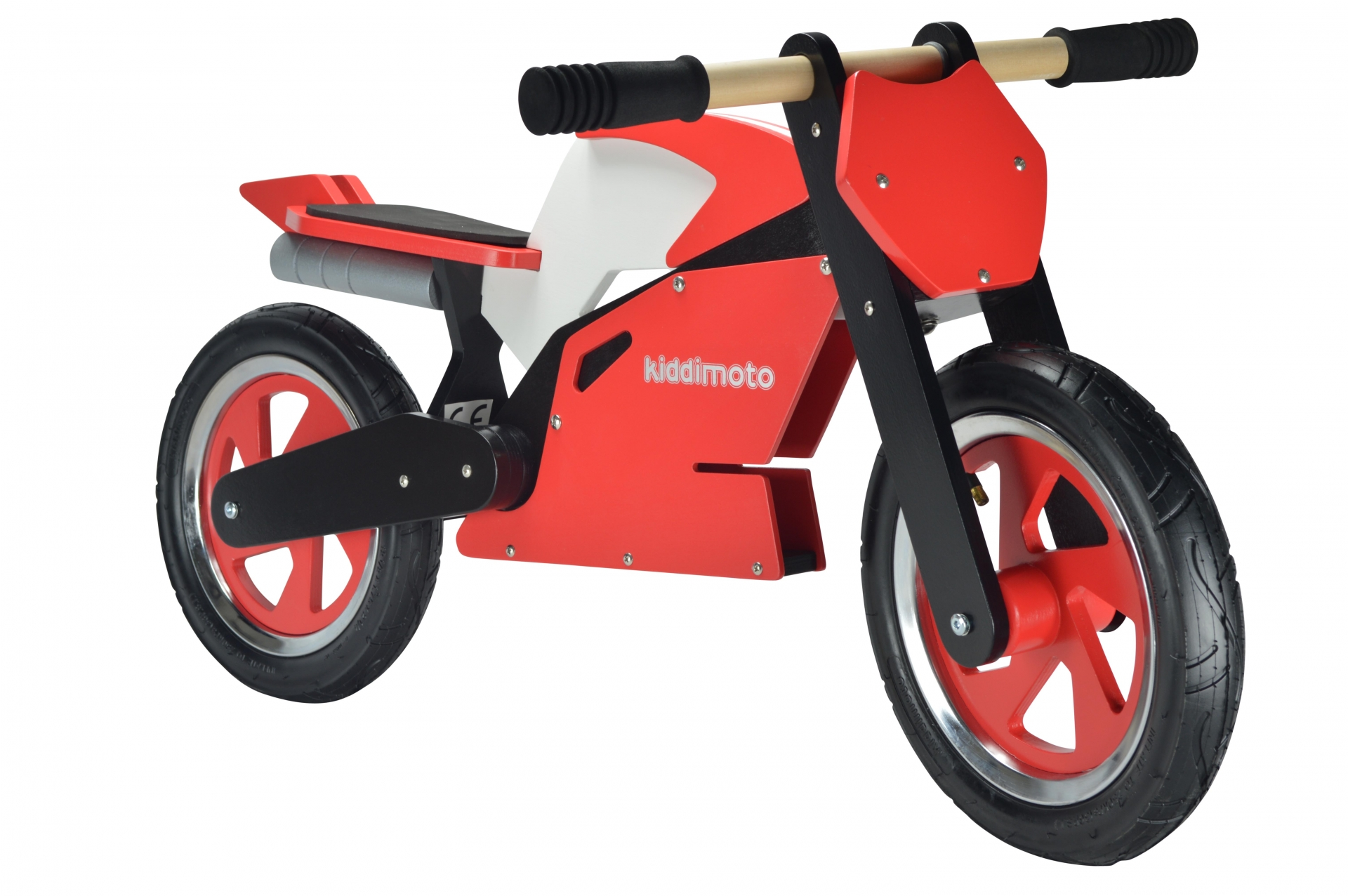 Draisienne Kiddimoto Superbike rouge/blanc 2 ans