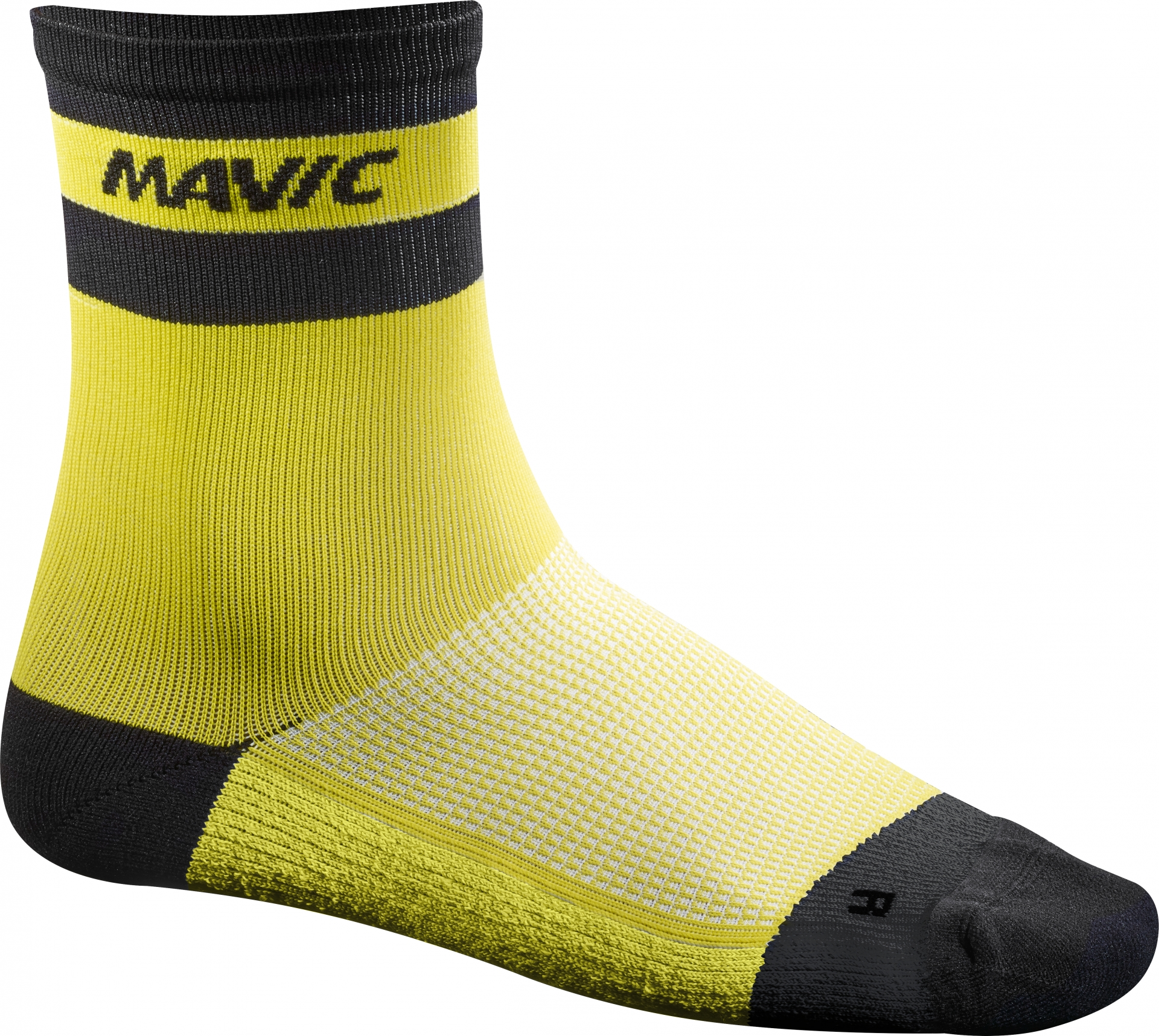 Chaussettes Mavic Ksyrium Carbon Sock Jaune - 39/42