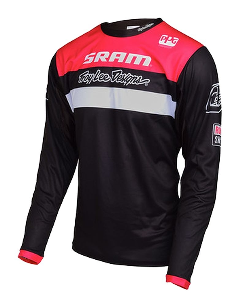 Maillot Troy Lee Designs Sprint SRAM Racing Noir - L