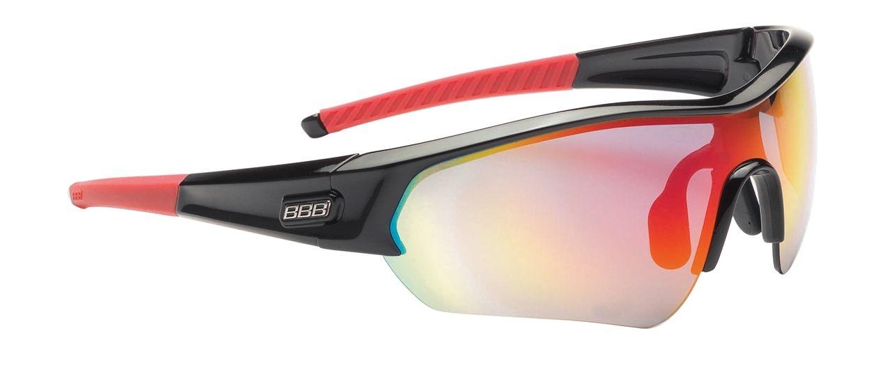 Lunettes BBB Select verre rouge Revo (noir/rouge) - BSG-4313