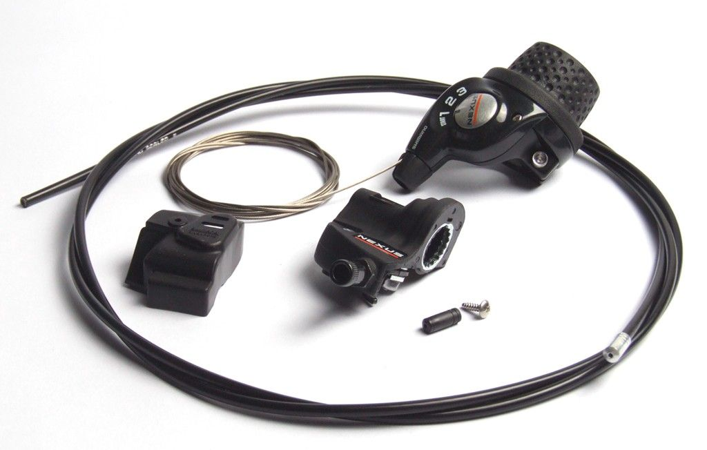 Manette tournante Shimano Revo Shift Nexus SL-3S41 + Clickbox Noir