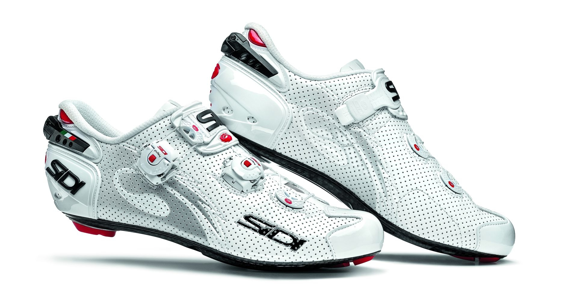 Chaussures Sidi WIRE Carbon AIR Vernice Blanc verni - 45