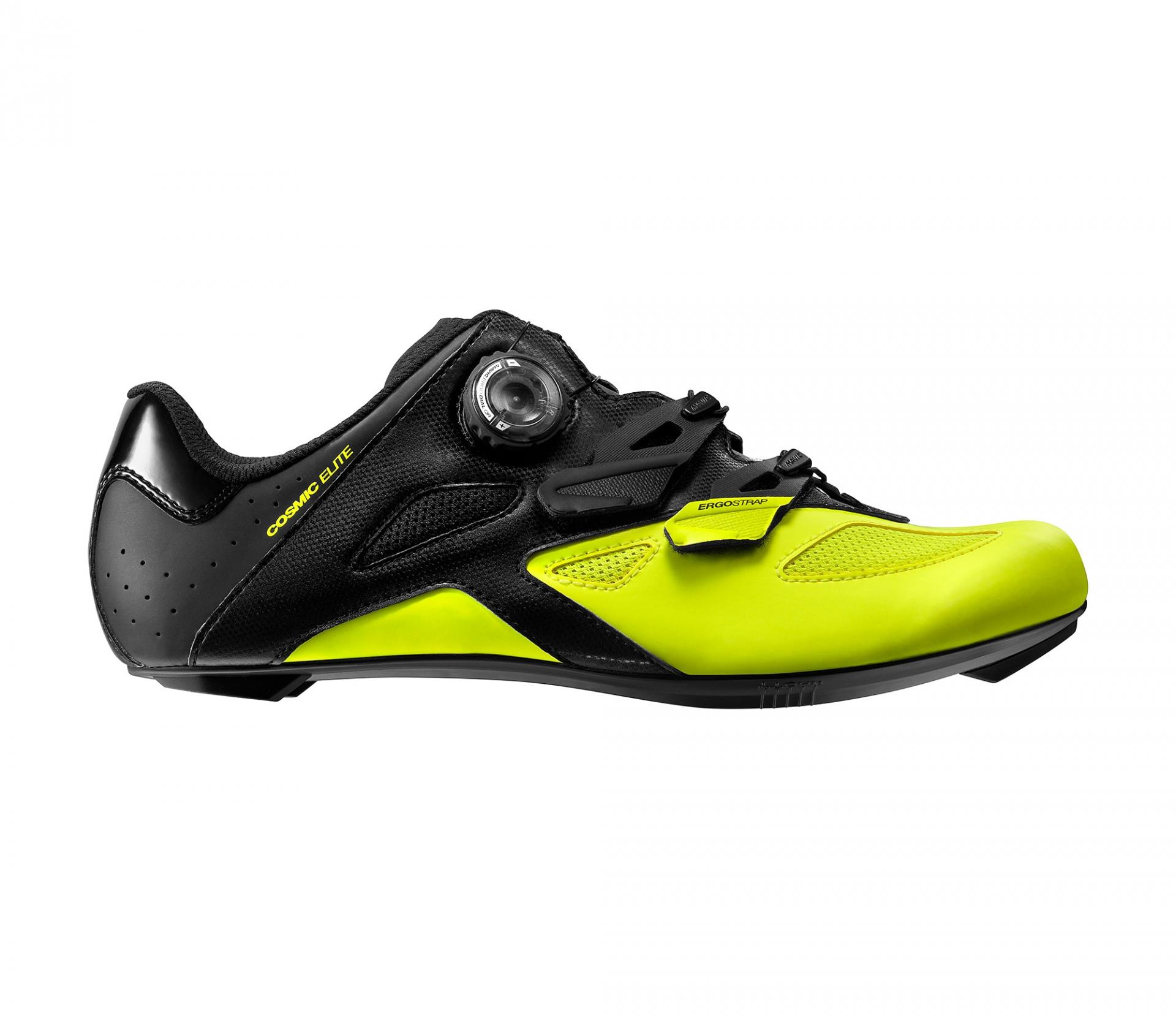 Chaussures route Mavic Cosmic Elite Noir/Jaune fluo - 44