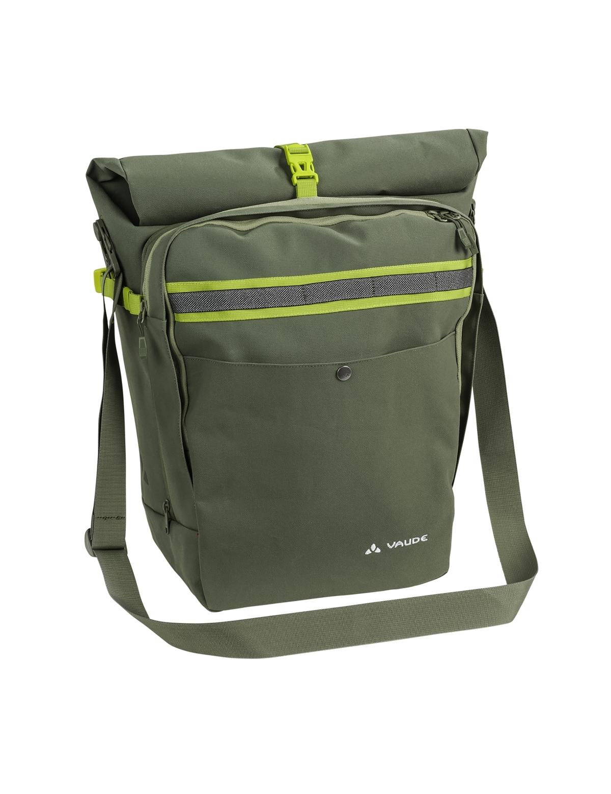 Sacoche porte-bagages Vaude ExCycling Back 45 L Vert Cèdre