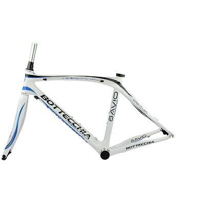 Kit cadre route Bottecchia 8AVIO Blanc/Bleu Taille 48 cm