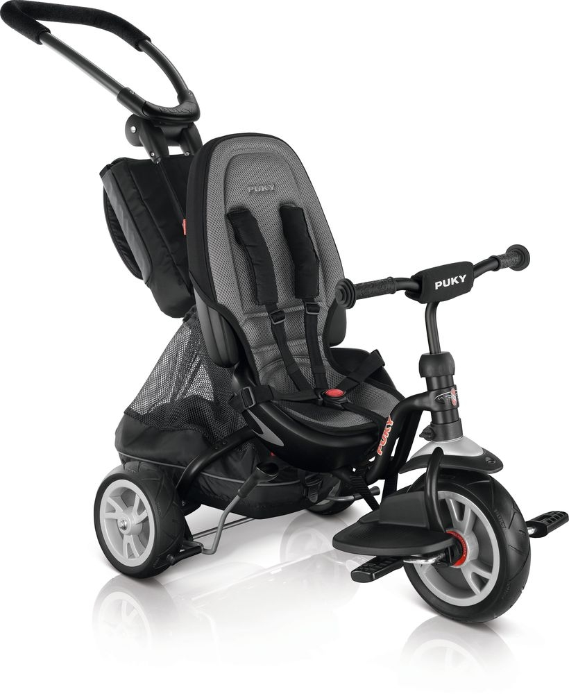 Tricycle 2x1 Puky CAT S6 Ceety 1 an 1/2 Noir