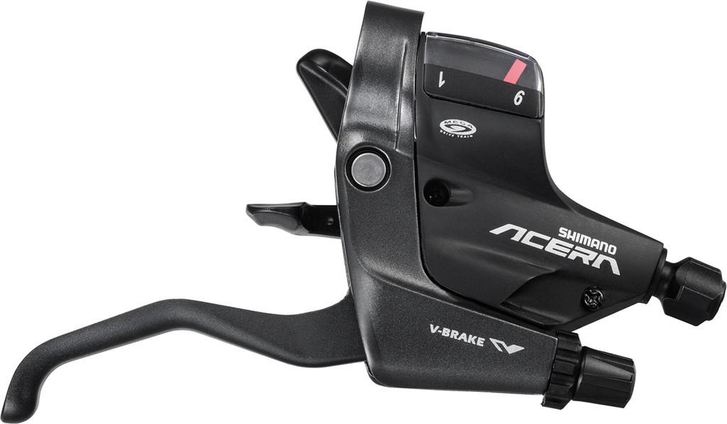 Levier de frein/Manette Shimano Acera ST-M390 9V noir 2 doigts