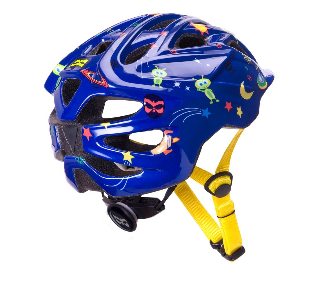 Casque Kali Protectives Chakra Child Stellar Bleu