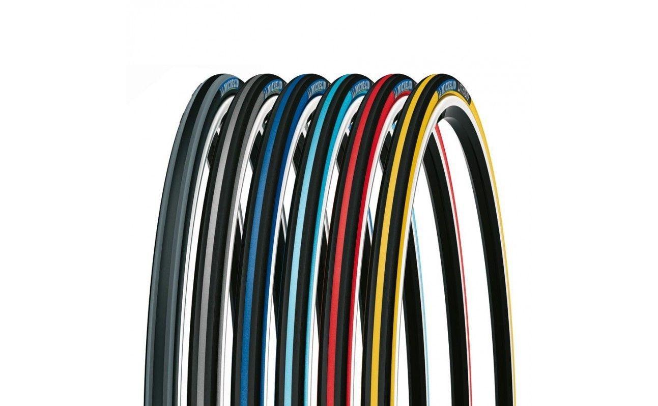 Pneu 700 x 23 Michelin Lithion 2 - Rouge/noir