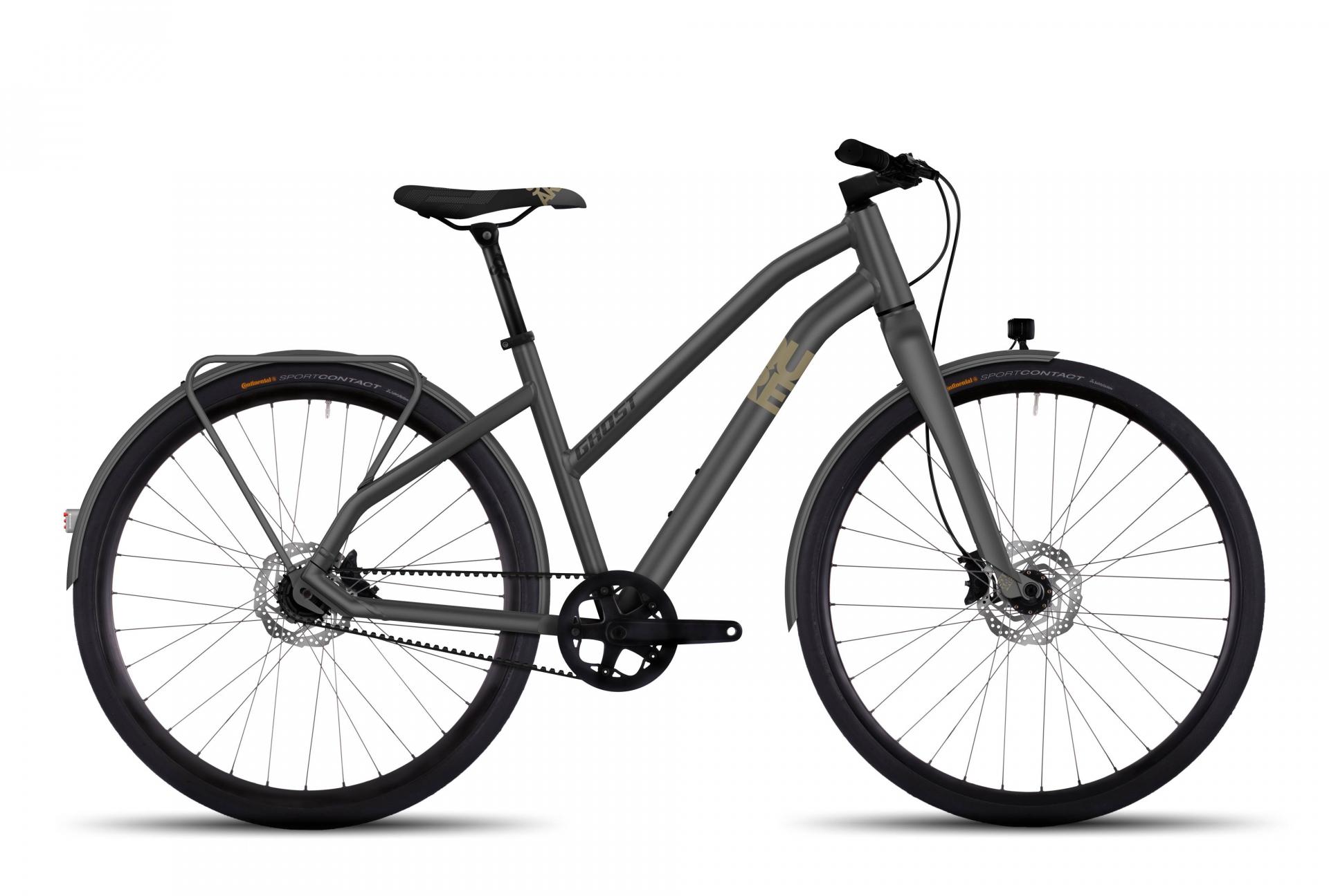 Vélo urbain Ghost Square Urban X 7 Mixte Gris - S