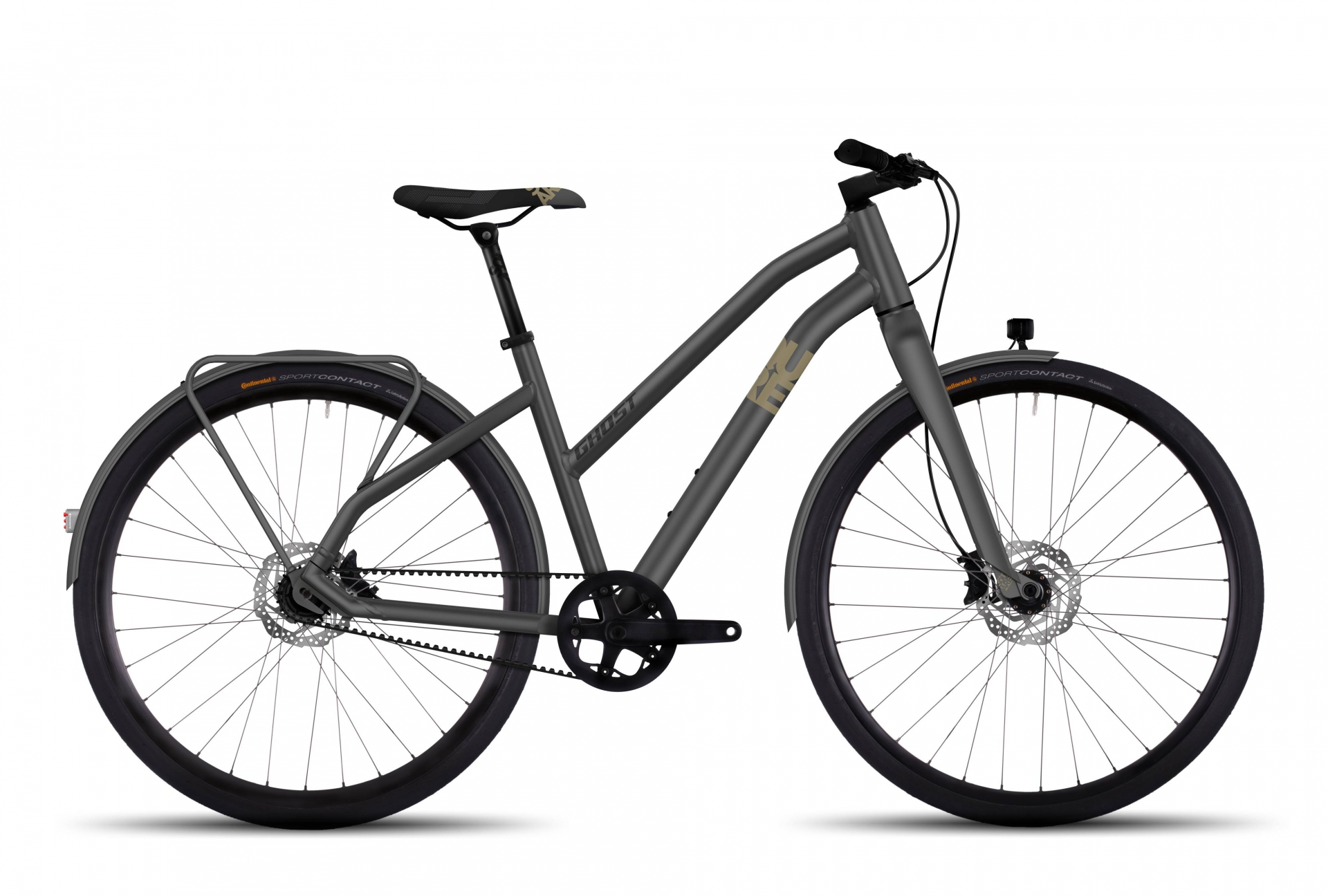 Vélo femme Ghost Square Urban X 7 Gris - S