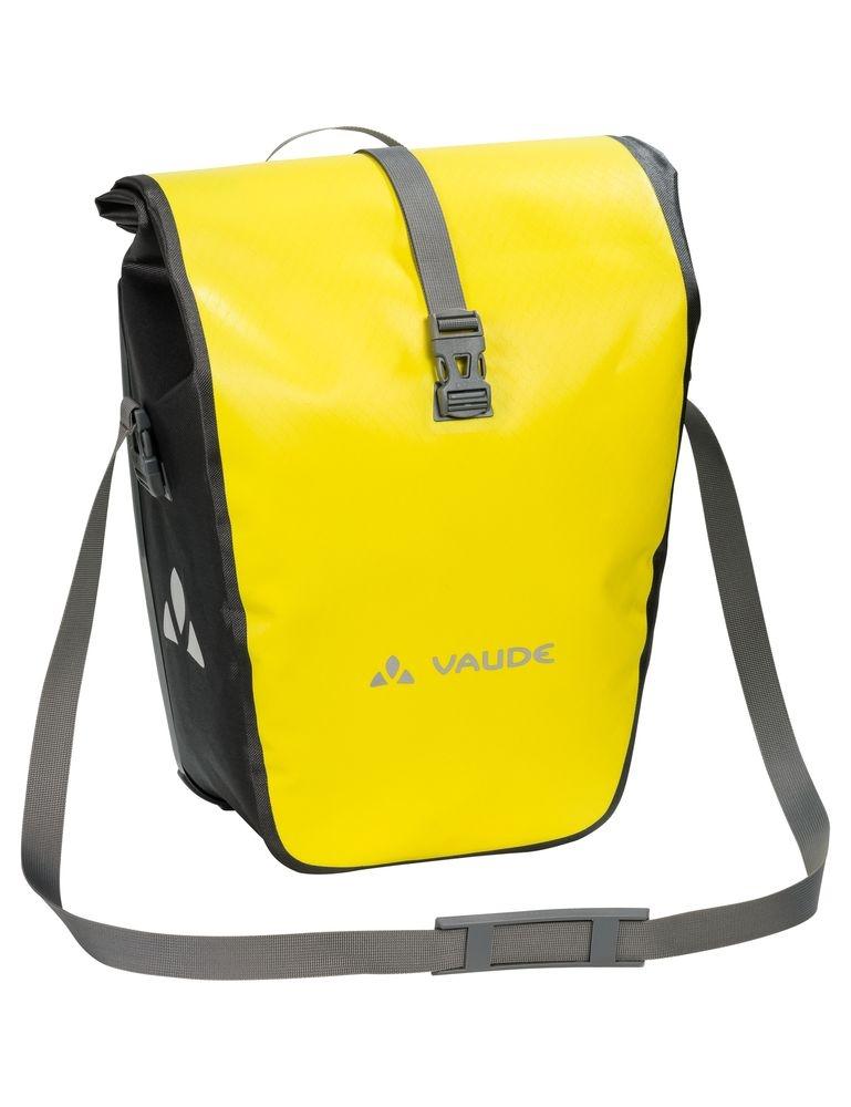 Sacoche arrière étanche Vaude Aqua Back 2x24 L Jaune Canary