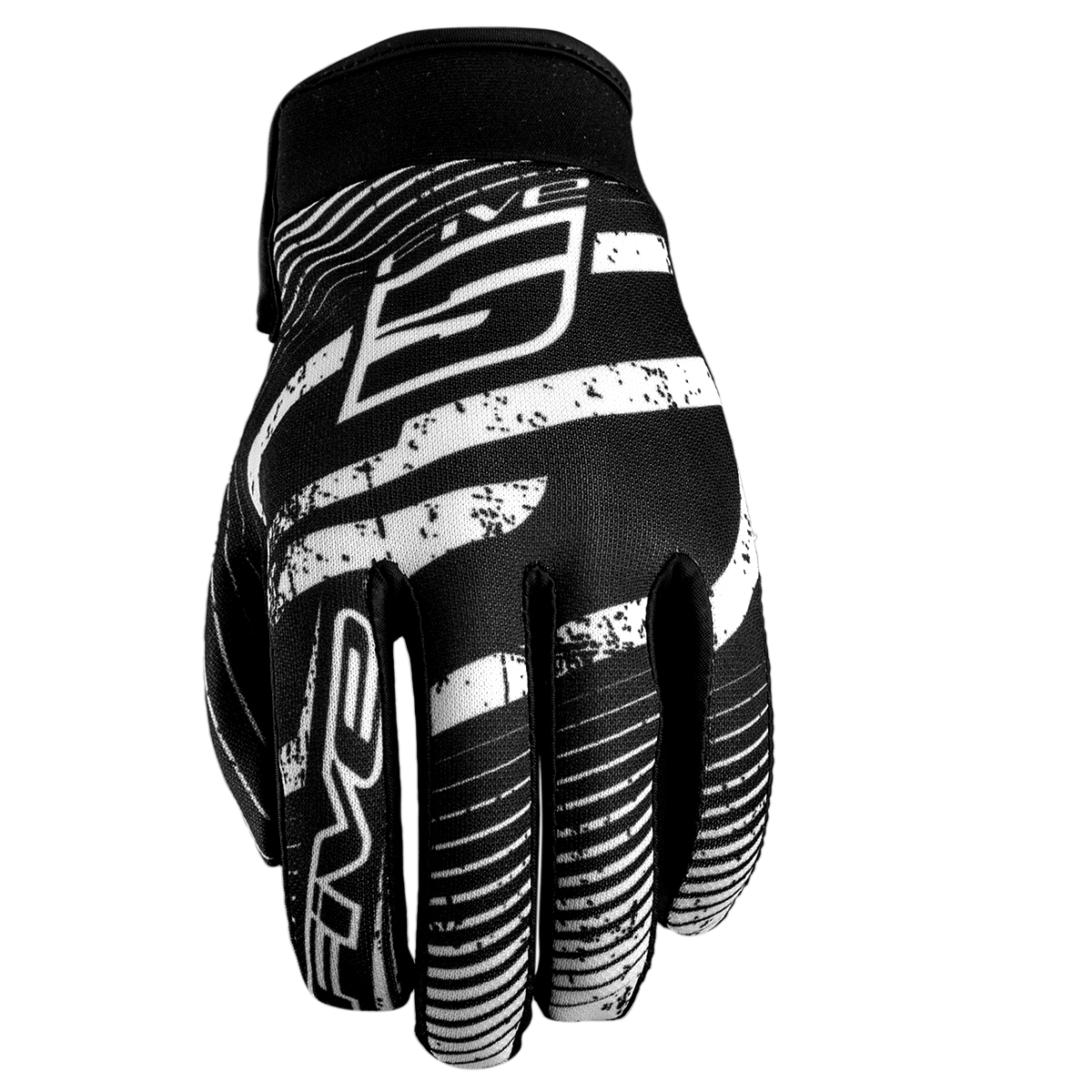 Gants Five Planet Fashion Logo Black/White - XL