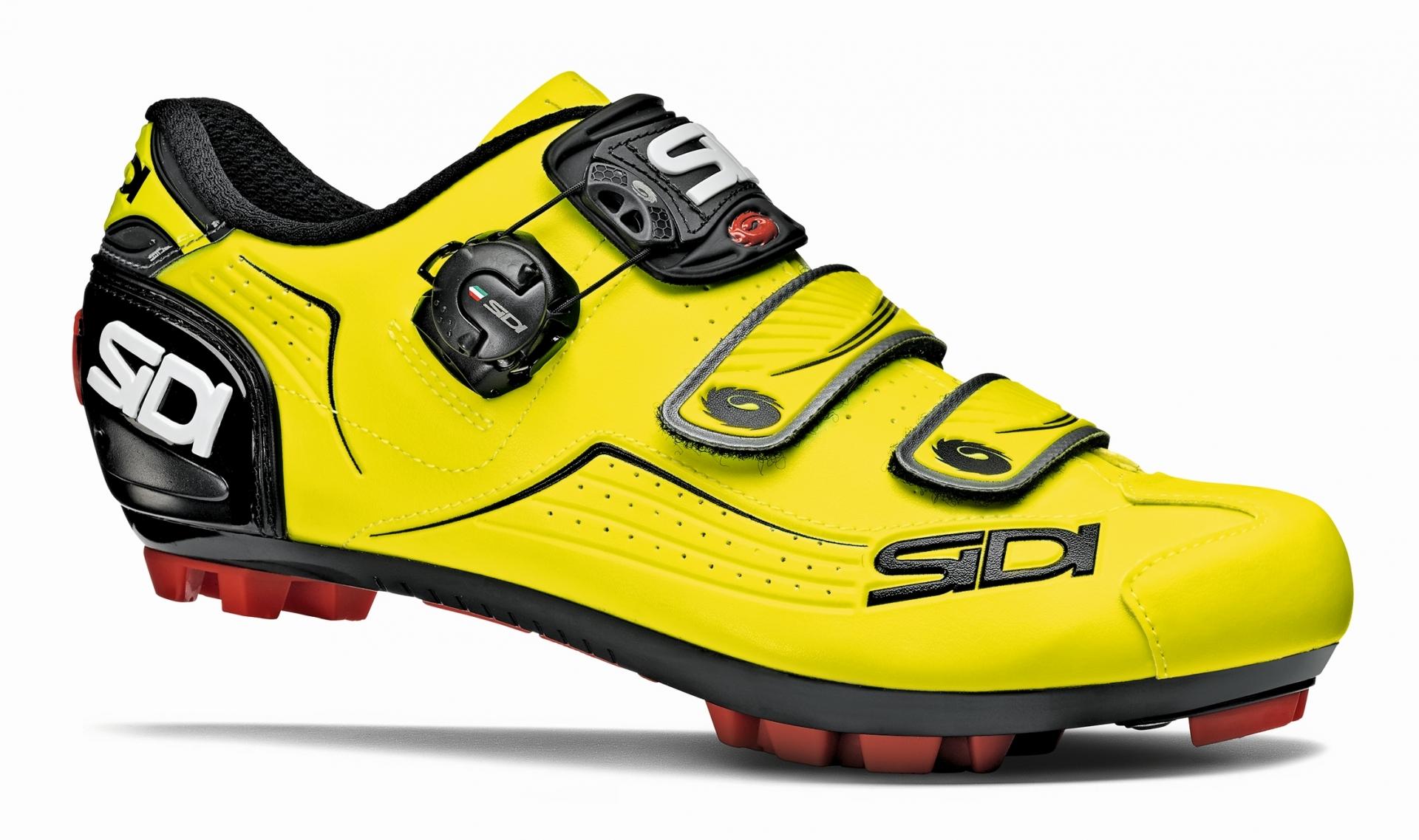 Chaussures VTT Sidi Trace Jaune fluo - 42