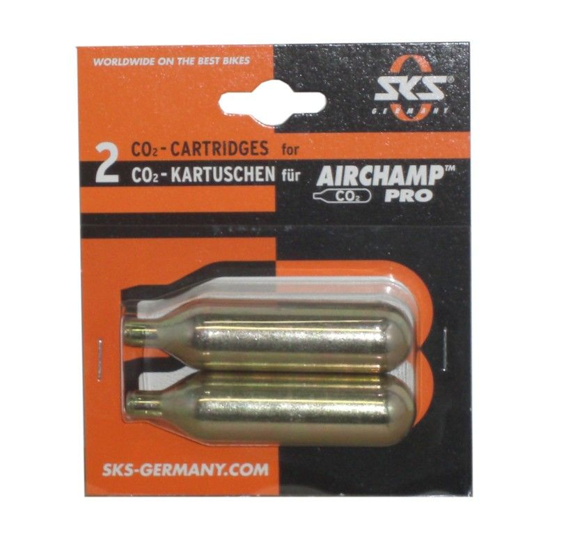 Recharges CO2 SKS Air Champ Pro 2 16g (x2)