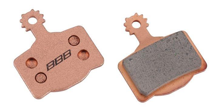 Plaquettes BBB comp. Magura MT2/MT4/MT6/MT9 métalliques - BBS-36S
