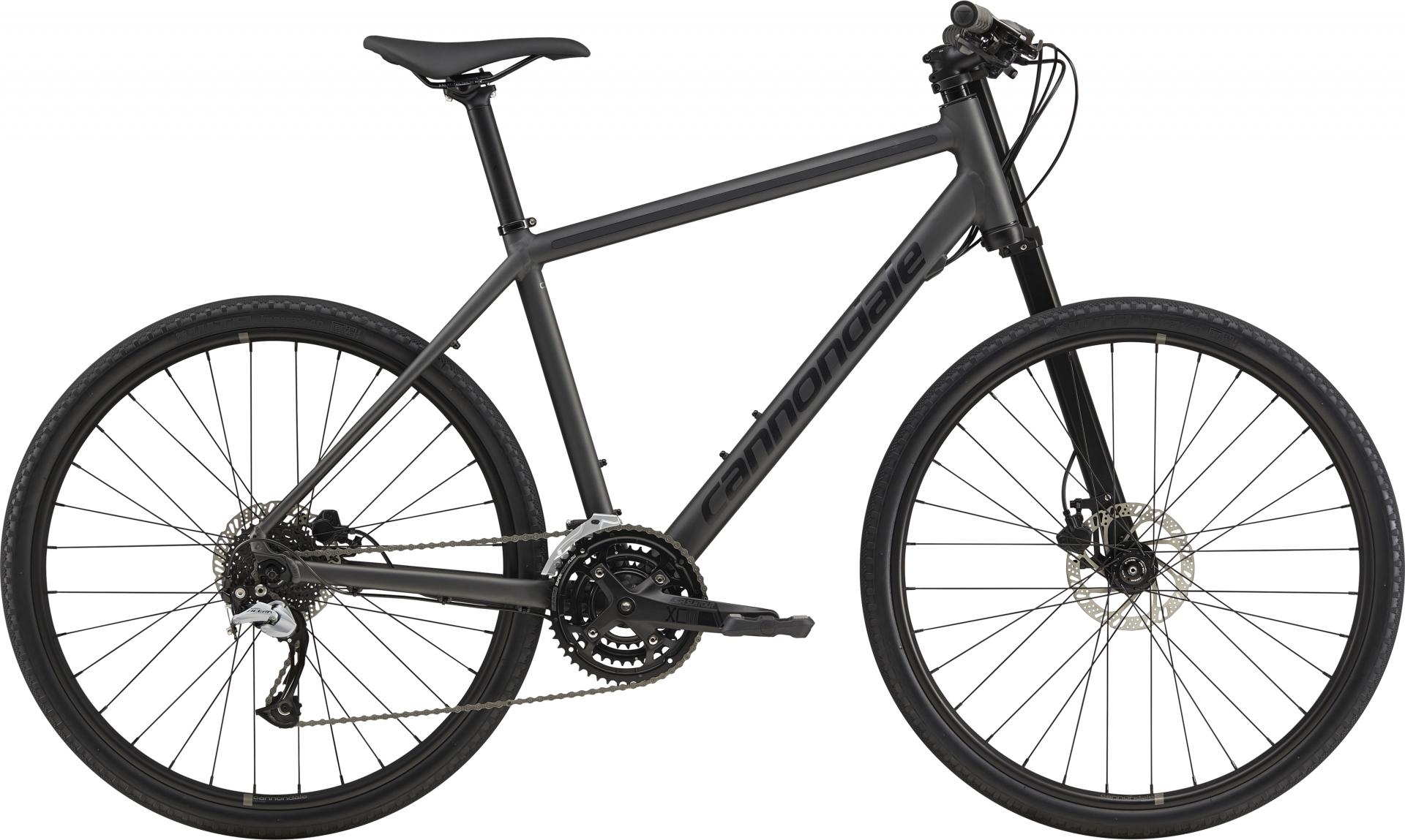 Vélo urbain Cannondale Bad Boy 2 27.5 Noir mat BBQ - M