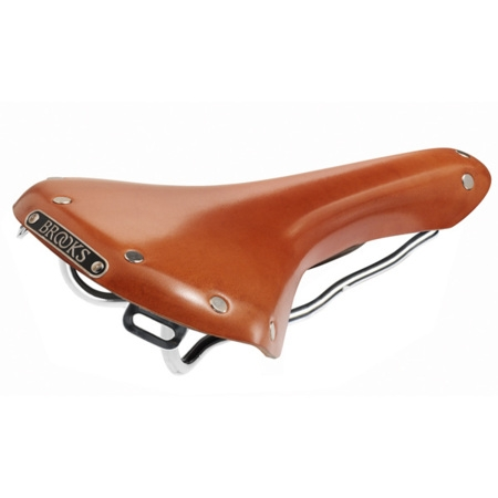 Selle Brooks B15 Swallow Steel Unique - Honey