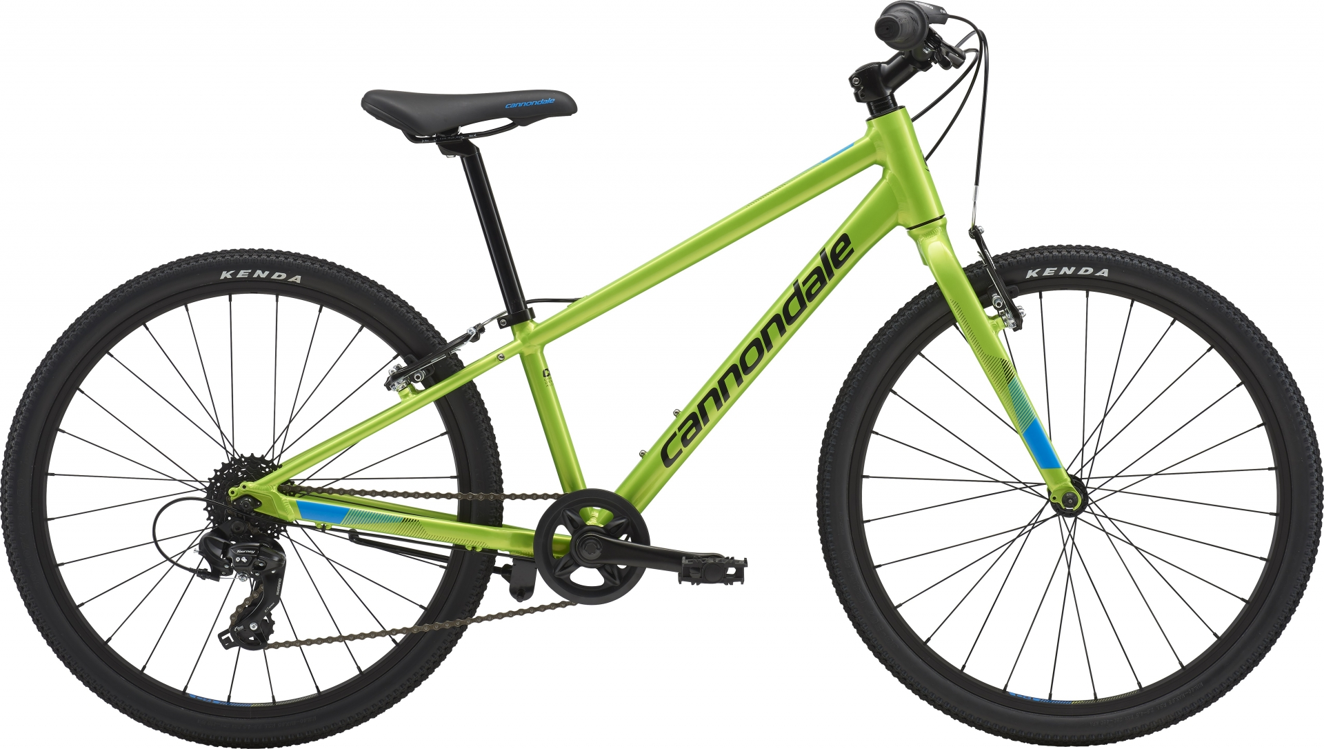 VTC junior Cannondale Quick 24 7V Vert Acid