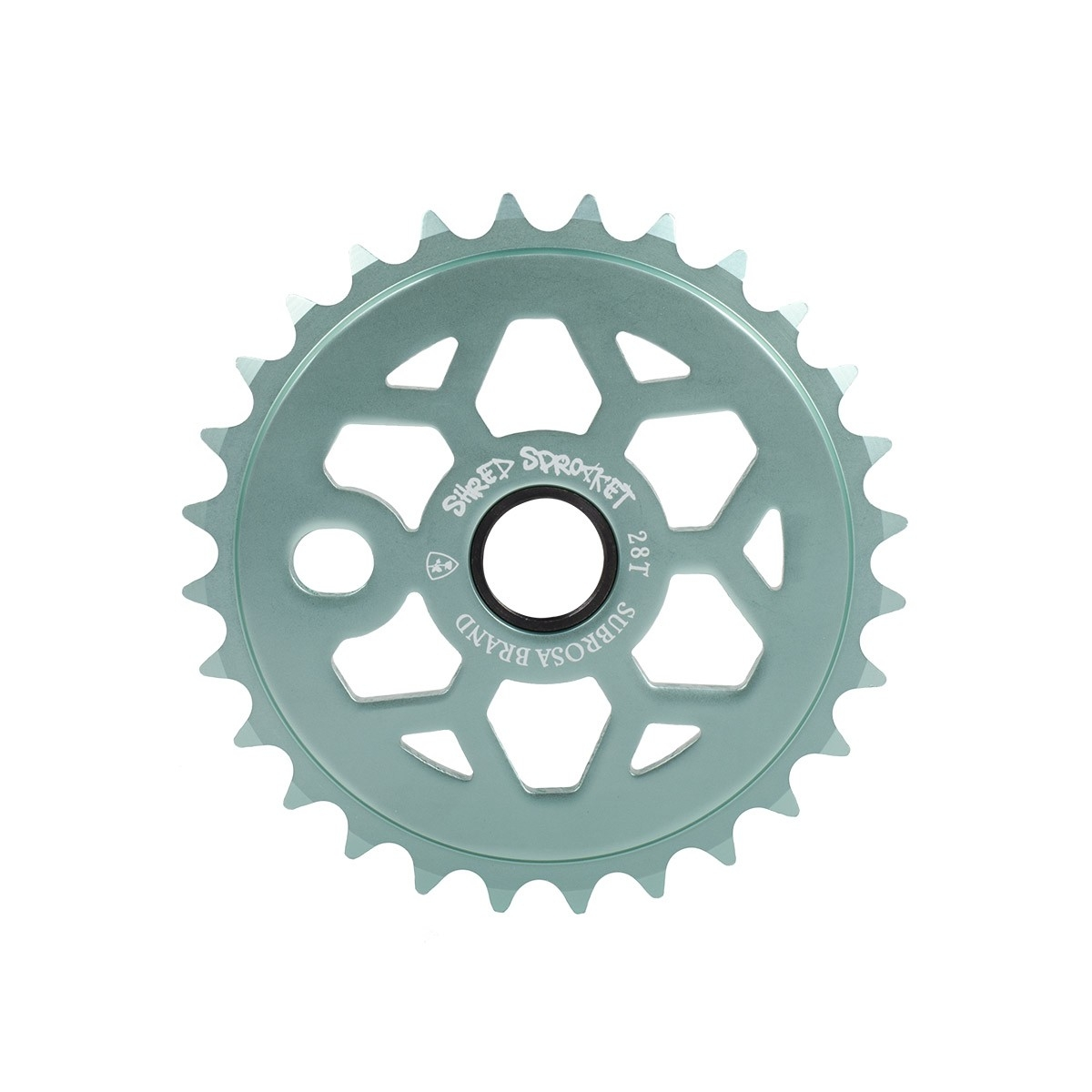 Couronne BMX Subrosa Shred Sprocket 25 dts Bleu Ice